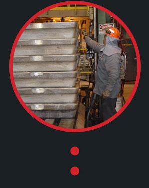 Heatproof labels for aluminium